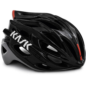 Kask Mojito X Fietshelm, black/red